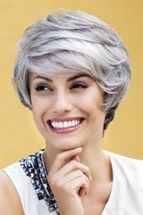 Monofilament-Perruque; Marque: Gisela Mayer; Ligne: Modern Hair; Perruques-Modele: Xenia Mono Deluxe Lace