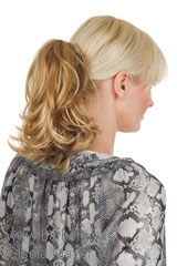 Weft-Hairpiece; Brand: Gisela Mayer; Hairpieces-Model: Classic Clip II