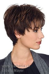 Monofilament-Wig; Brand: Gisela Mayer; Line: Modern Hair; Wigs-Model: Lizzy Mono Small