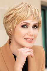 human hair-Monofilament-Wig; Brand: Gisela Mayer; Line: Human Hair; Wigs-Model: Prime Short Lace HH