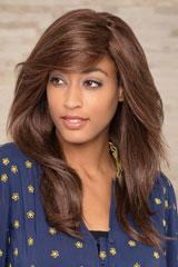 human hair-Monofilament-Wig; Brand: Gisela Mayer; Line: Human Hair; Wigs-Model: Spirit HH Lace