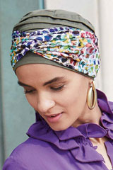 Turbante; Marca: Gisela Mayer; Modelo: Band Ella