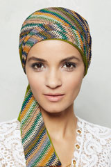 Turbante; Marca: Gisela Mayer; Modelo: New Mayte Reversible