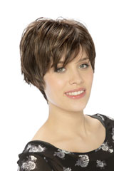 Crown monofilament-Wig; Brand: Sentoo; Line: Essential; Wigs-Model: Irie